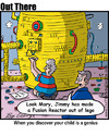 Cartoon: fusion (small) by George tagged fusion