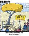 Cartoon: tree (small) by George tagged tree
