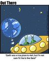 Cartoon: visit (small) by George tagged visit