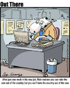 Cartoon: work (small) by George tagged work