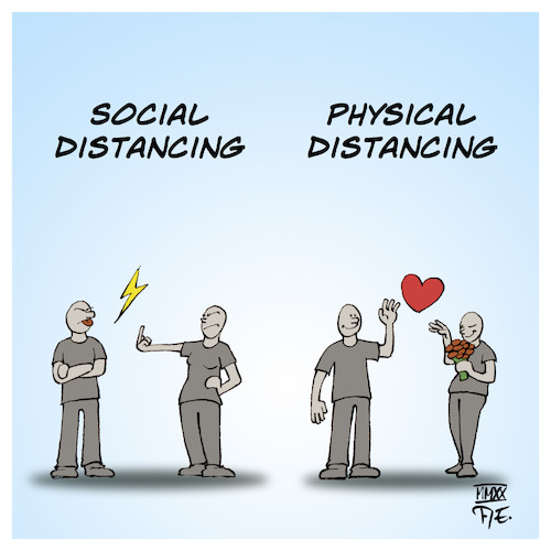 Social Physical Distancing
