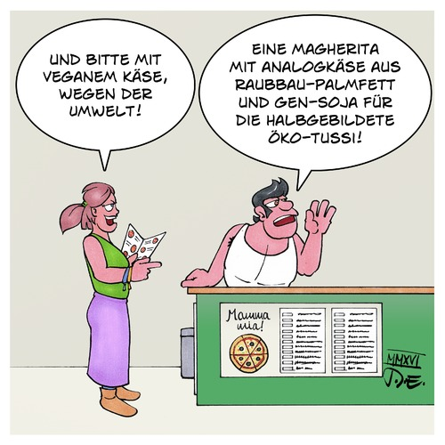 Cartoon: Veganer Käse (medium) by Timo Essner tagged veganer,käse,veganismus,vegetarier,vegetarismus,analogkäse,palmfett,gentechnik,soja,gensoja,essen,lifestyle,cartoon,timo,essner,veganer,käse,veganismus,vegetarier,vegetarismus,analogkäse,palmfett,gentechnik,soja,gensoja,essen,lifestyle,cartoon,timo,essner