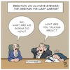 Cartoon: Climate Cabinet (small) by Timo Essner tagged federal government germany climate change ecology fridays for future cabinet co2 paris agreement cartoon timo essner