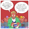 Cartoon: hart - aber fair? (small) by Timo Essner tagged hartaberfair,ard,talkshows,schreitv,whitetrash,frank,plasberg,tv,kaiser,cartoon,timo,essner