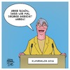 Cartoon: Hendricks Klimadialog (small) by Timo Essner tagged barbara,hendricks,umweltministerin,merkel,klimadialog,klima,dialog,petersberg,cartoon,timo,essner