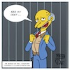 Cartoon: Mr. Burns as Paul Manafort (small) by Timo Essner tagged paul manafort montgomery burns simpsons ostrich see my vest hommage homage reverenz reverence cartoon timo essner