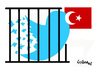 Cartoon: Forbidden (small) by Carma tagged twitter,social,network,turkey,international