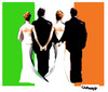 Cartoon: Wedding (small) by Carma tagged wedding,gay,ireland