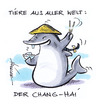 Cartoon: Tiere aus aller Welt (small) by Hoevelercomics tagged hai,shark,jaws