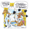 Cartoon: WortSPEGELEIen (small) by Hoevelercomics tagged ostern,osterhase,spiegeleier,kaninchen,hase