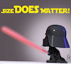 Cartoon: Mini Vader (small) by Rüsselhase tagged starwars,darthvader