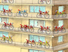 Cartoon: bicykle-hn (small) by kotrha tagged tour,de,france,sagan,peter