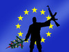 Cartoon: euchristmas (small) by kotrha tagged europa,germany,berlin,teror,christmas
