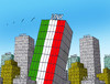 Cartoon: itabank (small) by kotrha tagged italy,referendum,matteo,renzi,eu,europa,world