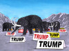 Cartoon: trumamut (small) by kotrha tagged donald,trump,usa,president,election,white,house