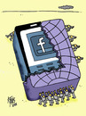 Cartoon: zuckerbook (small) by kotbas tagged world,tacebook