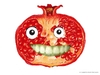 Cartoon: - Smiling Fruit - (small) by istanbuler62 tagged fruit germany berlin love istanbuler62 2010