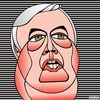 Cartoon: Clive Palmer (small) by KEOGH tagged clive,palmer,caricature,australia,keogh,cartoons,politics,australian,politicians