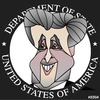 Cartoon: John Kerry (small) by KEOGH tagged john,kerry,caricature,keogh,cartoons,us,secretary,state,america,democrats,politicians