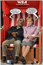 Cartoon: Verwanzt (small) by Egon58 tagged merkel,obama,politik,nsa