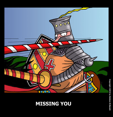 Cartoon: Missing you (medium) by perugino tagged missing,you,love,greeting,cards