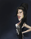 Cartoon: Amy Winehouse (small) by doodleart tagged amy winehouse