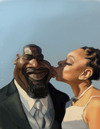 Cartoon: Newly Weds (small) by doodleart tagged caricature