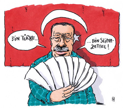 Cartoon: stimmzettel (medium) by Andreas Prüstel tagged türkei,erdogan,referendum,stimmzettel,cartoon,karikatur,andreas,pruestel,türkei,erdogan,referendum,stimmzettel,cartoon,karikatur,andreas,pruestel