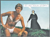 Cartoon: dessous (small) by Andreas Prüstel tagged dessous,fetischismus,damenwäscheträger,sünderin,mönch,cartoon,collage,andreas,pruestel