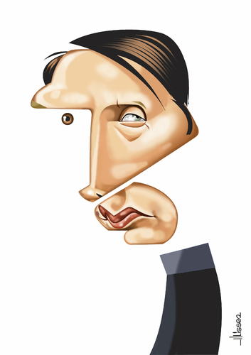 Cartoon: Mads Mikkelsen (medium) by Ulisses-araujo tagged mads,mikkelsen