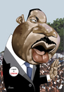 Cartoon: Martin Luther King Jr (small) by Ulisses-araujo tagged martin,luther,king,jr