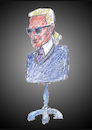 Cartoon: Schneiderlein (small) by astaltoons tagged lagerfeld,mode