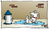 Cartoon: Revenge (small) by JohnBellArt tagged dog,urinate,fire,hydrant,revenge,squirt,spray,paybacks