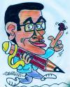 Cartoon: portre cartoon (small) by demirhindi tagged portre,cartoon
