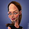 Cartoon: Emily Blunt (small) by BehnamParan tagged emilyblunt,caricature,3d