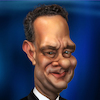 Cartoon: Tom Hanks (small) by BehnamParan tagged actor