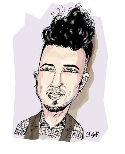 Cartoon: tarkan yeni hali (medium) by pisko tagged simdi,boyle,tarkan,abimiz