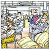 Cartoon: fabrika (small) by pisko tagged isciler