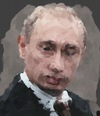 Cartoon: Viladimir Putin (small) by pisko tagged rusya,devlet,baskani
