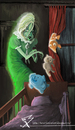 Cartoon: Ghost in The Bedroom (small) by ionutbucur tagged lunar,park,bret,easton,ellis,ghost,toys,illustration