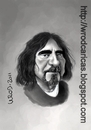 Cartoon: Geezer Butler (small) by WROD tagged geezer butler black sabbath