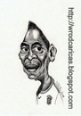 Cartoon: Pele (small) by WROD tagged pele brazilian soccer player