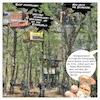 Cartoon: Hambacher Frust (small) by Night Owl tagged hambacher,forst,polizei,polizist,fäkalien,wurf,würfe,braunkohle,tagebau,rodung,barrikade,baum,baumhaus,baumhäuser