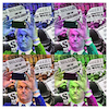 Cartoon: nazissistic V1 (small) by Night Owl tagged geert,wilders,islam,netherlands,selfie,selbstverliebt,narcissistic,narzissmus