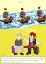 Cartoon: Piracy Invasion (small) by paparazziarts tagged piracy,invasion,of,privacy,theft,intellectual,property,trade,secrets