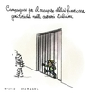Cartoon: Voltati (small) by Giulio Laurenzi tagged voltati