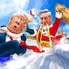Cartoon: Mueller Claus (small) by Bart van Leeuwen tagged robert,mueller,trump,russian,collusion,evidence