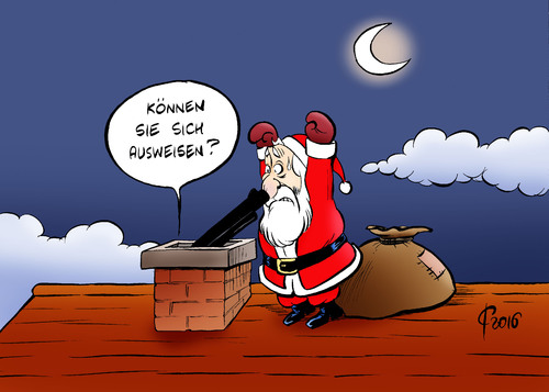 Cartoon: Weihnachten 2016 (medium) by Paolo Calleri tagged deutschland,weihnachten,terror,angst,entsetzen,sicherheit,berlin,christen,terrorismus,islamisten,islamismus,polizei,karikatur,cartoon,paolo,calleri,deutschland,weihnachten,terror,angst,entsetzen,sicherheit,berlin,christen,terrorismus,islamisten,islamismus,polizei,karikatur,cartoon,paolo,calleri