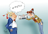 Cartoon: US-Zeitungen (small) by Paolo Calleri tagged us,usa,praesident,donald,trump,presse,journalismus,journalisten,zeitungen,zeitung,nachrichten,news,medien,twitter,fake,populismus,feinde,volk,widerstand,kritik,karikatur,cartoon,paolo,calleri