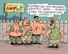 Cartoon: Songcontest (small) by RABE tagged eurovision,songcontest,schweden,points,schlager,pop,rabe,ralf,böhme,cartoon,karikatur,pressezeichnung,farbcartoon,tagescartoon,survival,survivalcamp